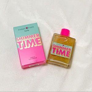 Tarte Sugar Rush Shimmer Time Body Oil BNIB